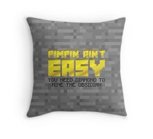 Tower of Pimps Throw Pillow