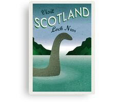 Visit Loch Ness Canvas Print