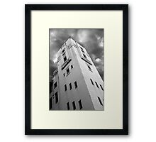 The Bridge Tower Framed Print