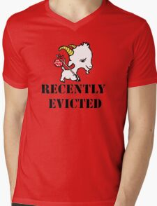 Recently Evicted Mens V-Neck T-Shirt