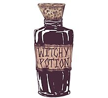 Witchy Potion Photographic Print