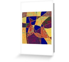 0268 Abstract Thought Greeting Card