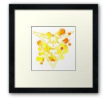 Instinct Pokemon GO Watercolour Framed Print