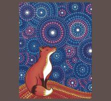 Star Gazing Fox Baby Tee