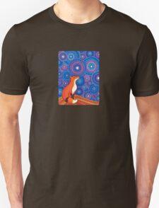 Star Gazing Fox Unisex T-Shirt