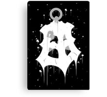 Thresh Lantern Ink Black Canvas Print