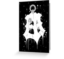 Thresh Lantern Ink Black Greeting Card