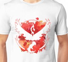 Valor Pokemon GO Watercolour Unisex T-Shirt
