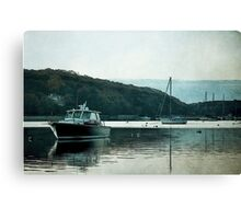 Coastal Harbor Canvas Print