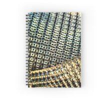 Golden Grate Spiral Notebook