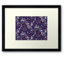 Bells and Blues Framed Print