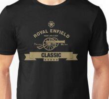 Royal Enfield Retro Motorcycles Vintage Biker Unisex T-Shirt