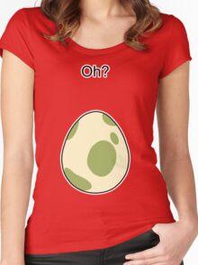 Pokemon GO Egg Oh? Women's Fitted Scoop T-Shirt