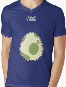 Pokemon GO Egg Oh? Mens V-Neck T-Shirt