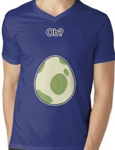 Pokemon GO Egg Oh? Mens V-Neck T-Shirt