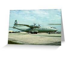 "Antonov An-12 ""Cub"" 2105 Greeting Card"