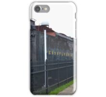 Train Engine and Tender at Penssy  Museum iPhone Case/Skin