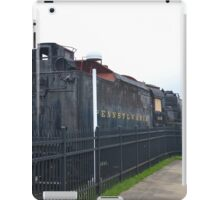 Train Engine and Tender at Penssy  Museum iPad Case/Skin