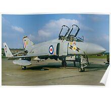 McDonnell F-4K Phantom FG.1 XT863/G Poster