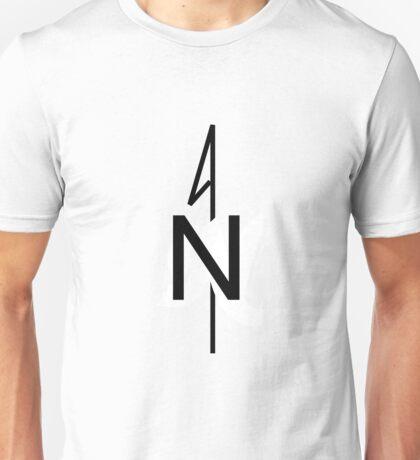 Simple Compass Rose Art Unisex T-Shirt