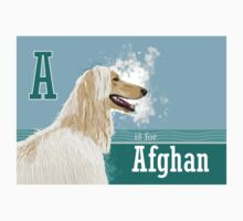 A is for Afghan T-Shirt
