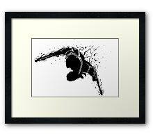 Zed Shadow Framed Print