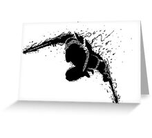 Zed Shadow Greeting Card