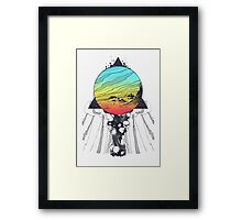 Filtering Reality Framed Print