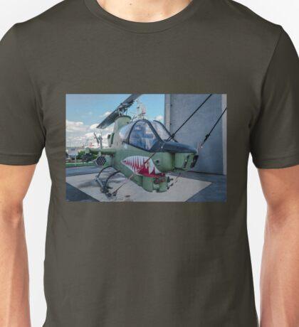 Vintage Helicoptor Battleship Cove Fall River, MA Unisex T-Shirt