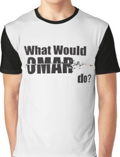 "What Would Omar Do? ""The Wire"" Graphic T-Shirt"