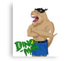 Dino Man Canvas Print