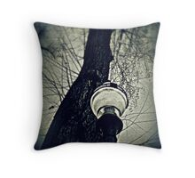 In The Darkness Is The Light Throw Pillow