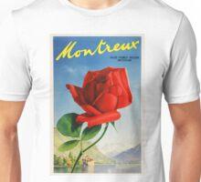 Vintage Switzerland Travel Poster Unisex T-Shirt