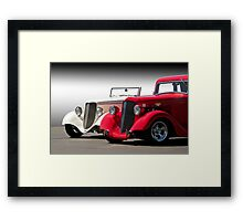 Parked with Pride Framed Print