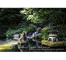 Japanese Nature Photographic Print