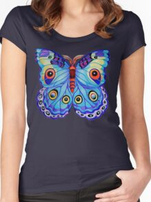 """Just a Butterfly!"" Women's Fitted Scoop T-Shirt"