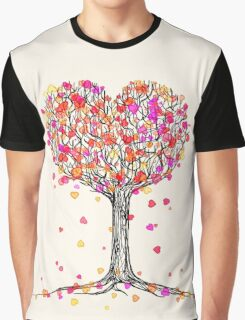 Love in the Fall Graphic T-Shirt