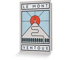 Mont Ventoux Greeting Card