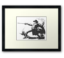 The Zorro Framed Print