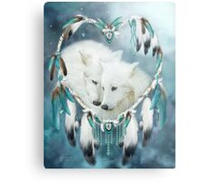 Heart Of A Wolf Metal Print