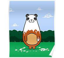 Painting Panda Poster