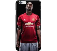 Paul Pogba #Pogback Manchester United (T-Shirt, Phone Case & More)  iPhone Case/Skin