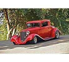 1933 Desoto 'Street Rod' Coupe Photographic Print
