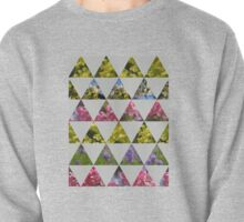 Flora Patchwork: Triangles Pullover