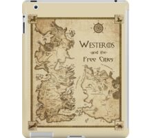Westeros and the Free Cities iPad Case/Skin