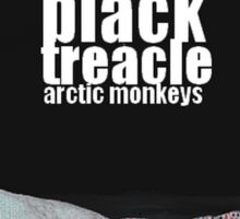 Black Treacle Arctic Monkeys Fan-Art Poster Sticker