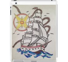 sail the sea  iPad Case/Skin