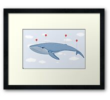 The Whale In The Sky Framed Print