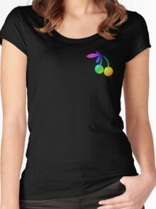 MLP - Cutie Mark Rainbow Special – Cherry Berry V2 Women's Fitted Scoop T-Shirt
