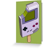 Game Boy Icicle Greeting Card